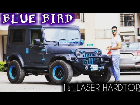Repeat Indian Hummer-Mahindra Thar Modified 2017 by