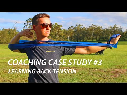 Archery Coaching Case Study #3 - Learning back tension