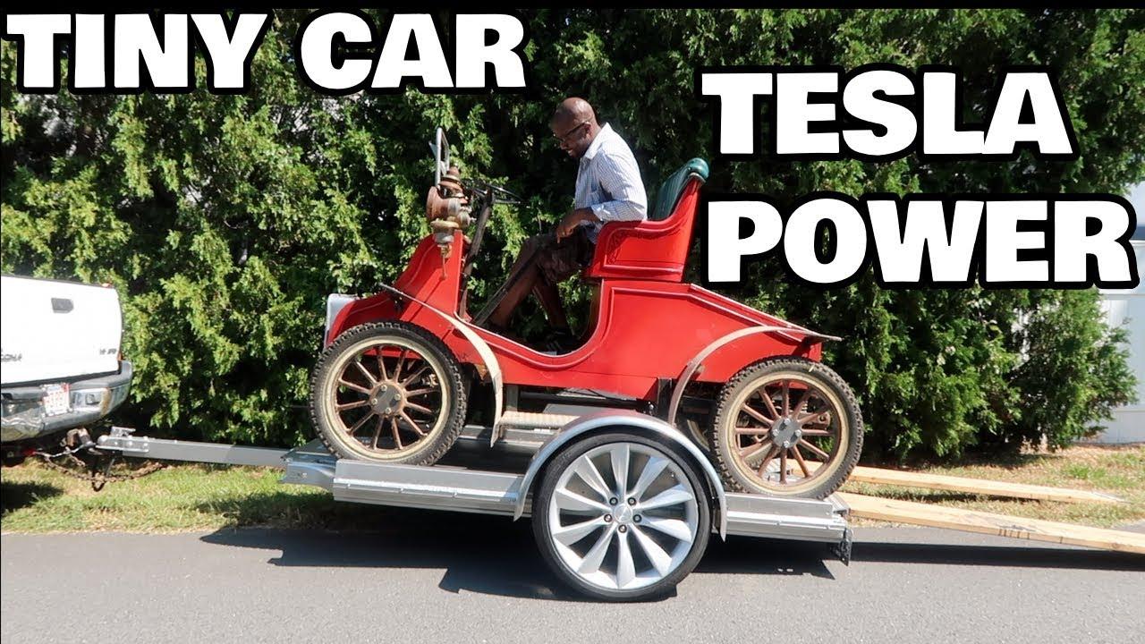 Daisy, The Tesla Powered Disney Car!