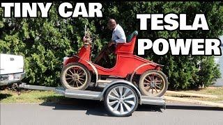 Daisy, The Tesla Powered Disney Car!