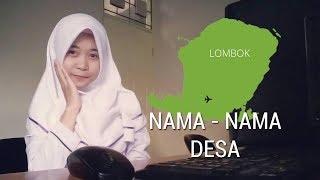 Lagi Viral!!! Nama Nama Wilayah Di Lombok Dalam Sebuah Lagu (Parody Via Vallen - Sayang)