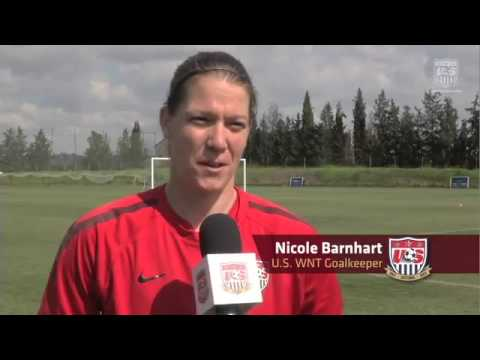USWNT GKs prepare for Algarve Cup with Paul Rogers