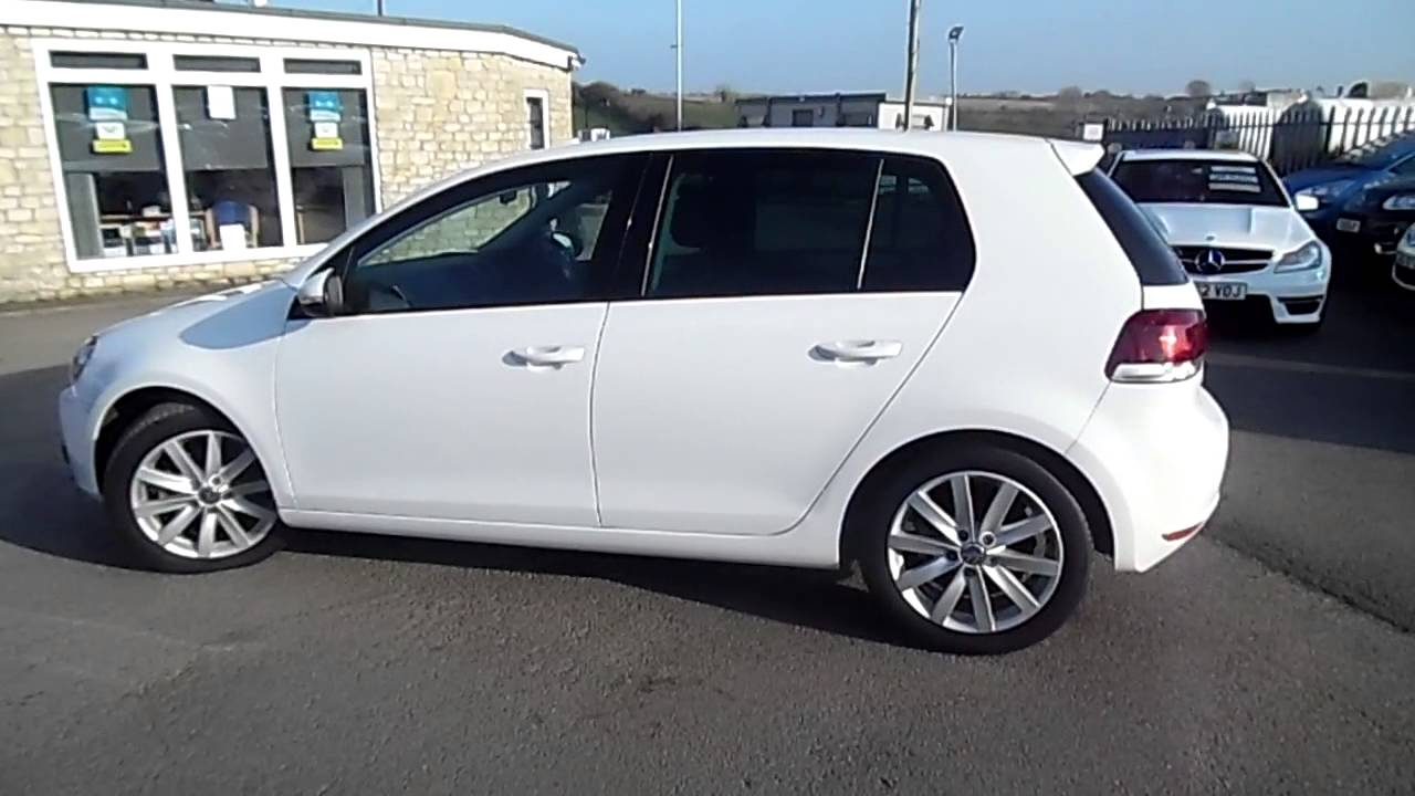 2011 vw golf gt tdi 140 white 5 door for sale youtube. Black Bedroom Furniture Sets. Home Design Ideas