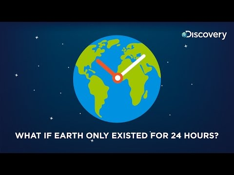 What if Earth existed for only 24 hours?