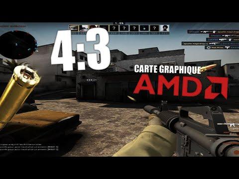 [AMD] Comment Avoir La 4:3 étirée Sur CS:GO