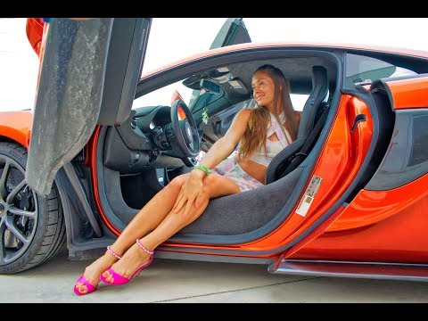 Hot Cars Hot Girls - REVS FLAMES Extreme Burnouts & FIRE - Full Throttle In Miami By Supercar Rooms