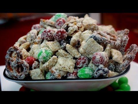 White Trash - White Chocolate Snack Mix (Merry Christmas & Happy Holidays) | Gayathri Daggubati