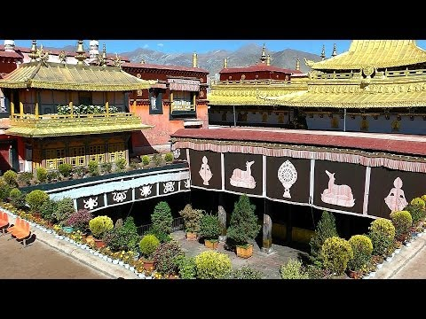 Jokhang Temple & The Barkhor, Lhasa, Tibet in HD