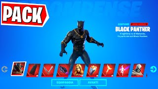 IL NUOVO PACK DI BLACK PANTHER SU FORTNITE  È INCREDIBILE!