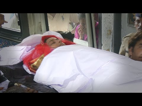(Video) Pratyusha Banerjee's Funeral | Mother & Father Cry