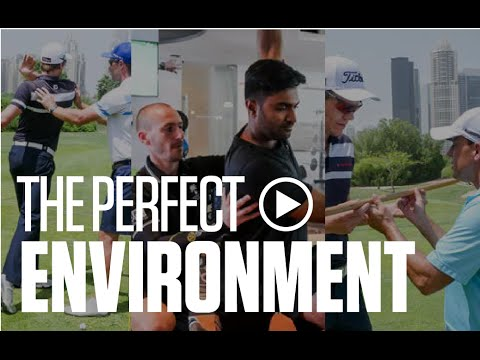 Meet the Dubai Golf Academy team at Emirates Golf Club