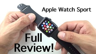 "Apple Watch ""Sport"" Full Review [42mm Space Gray]"