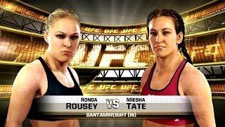 Dman4Life Plays - Xbox One - EA Sports UFC: Ronda Rousey vs. Misha Tate