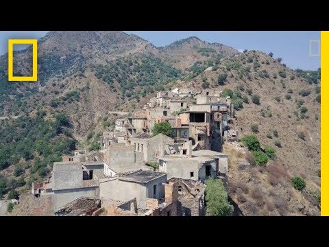 Explore a Ghost Town in Southern Italy | National Geographic