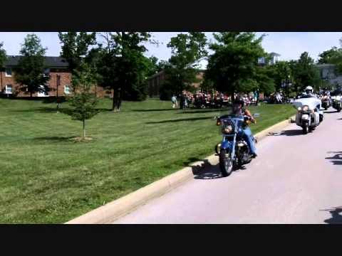 Road King Riders tour Stewart Home School