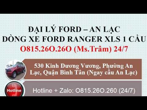 Mua Xe Ford Ranger XLS 1 Cầu 2019 Ở Đâu Rẻ Tại Bà Rịa
