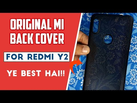 Best Back Cover For Redmi Y2 ? | हिंदी