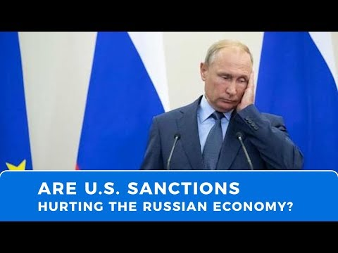Bloomberg argues U.S. sanctions against Russia are working...are they?