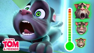 👻 TOP 5 Scary Moment Be Afraid with Talking Tom and Friends (Bonus )
