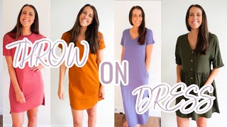 AMAZON THROW-ON DRESS HAUL!