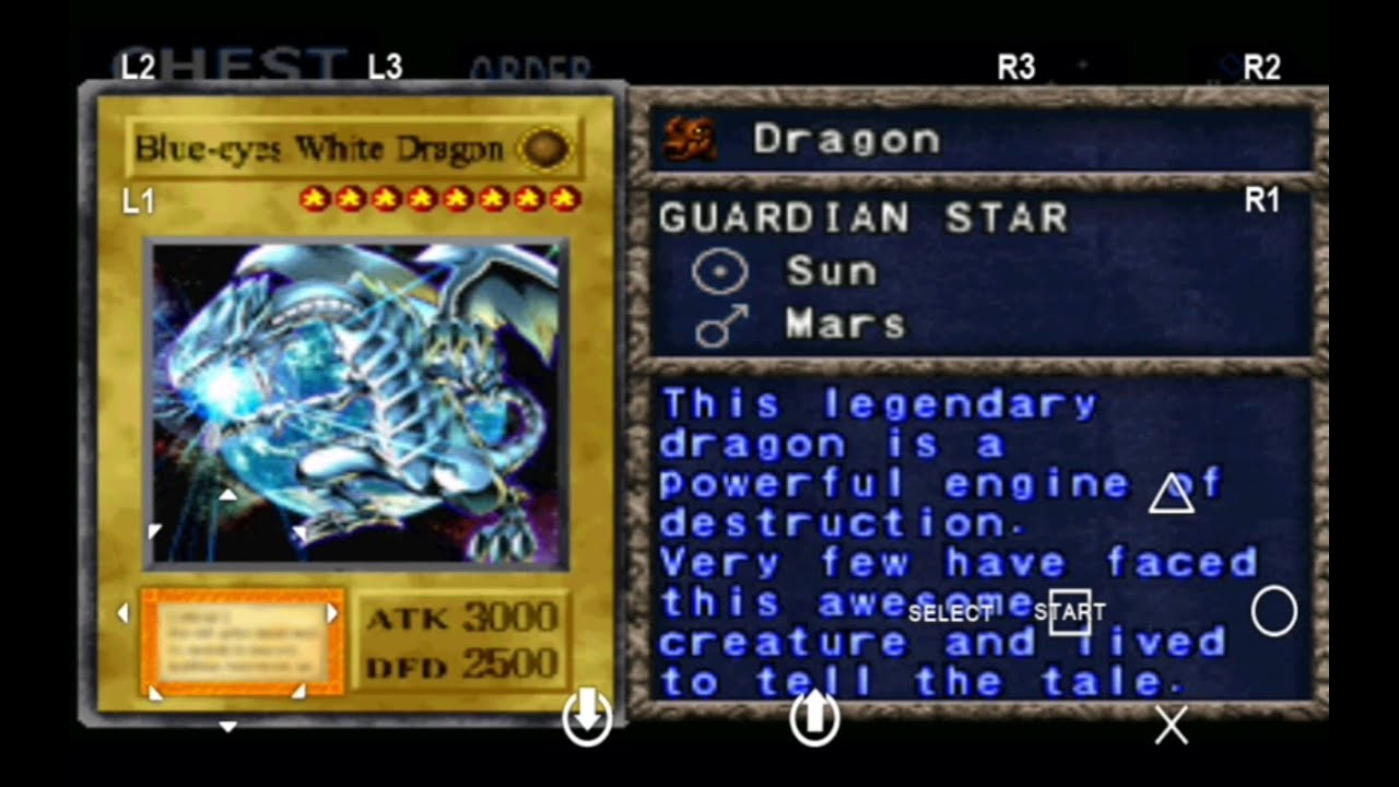 yu gi oh forbidden memories 2 ultimate blue eyes white dragon