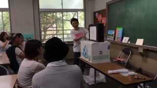 6月7日、8日に岡山県旧山下小学校で開催された「でゑれ〜祭」内のワ...