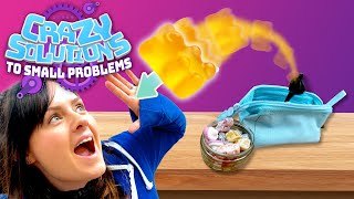 Creating a Hidden Snack Catapult (in a Pencil Case!) | CRAZY SOLUTIONS TO SMALL PROBLEMS