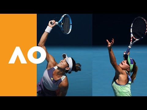 Road to the Final | Garbine Muguruza vs Sofia Kenin