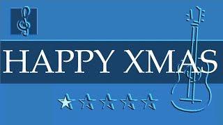 Acoustic Guitar Duet - Happy Xmas - John Lennon - Christmas Song (Sheet music - Guitar chords)