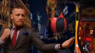 conor mcgregor vs jon jones punching machine