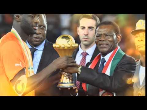 BBC World News Sport Today 2015 Africa Cup of Nations montage