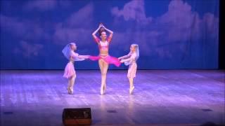 Отчетный концерт отделения хореографии Балакиревки 23.05.2014 3 класс