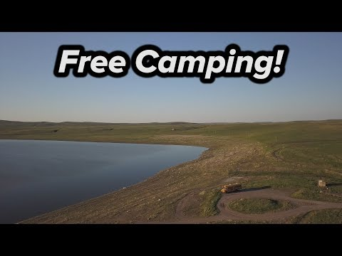 FREE CAMPING IN MONTANA!
