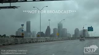 08-26-2017 Houston, Texas Hurricane Harvey-Start of Street Flooding Lorenson/Elliott
