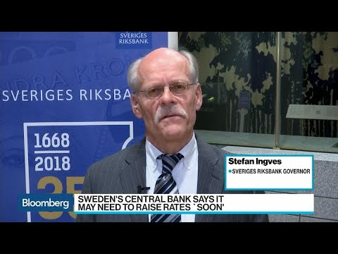 Riksbank Governor Says Time to Raise Rates in December or February