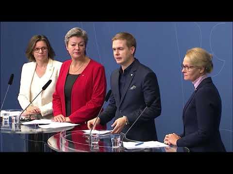 Centern backade regeringen – vill ge ensamkommande ny chans - Nyheterna (TV4)
