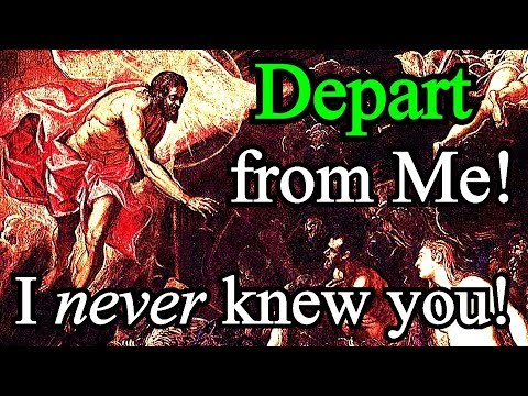 I Never Knew You; Depart from Me, You Who Practice Lawlessness - Matthew Henry - YouTube