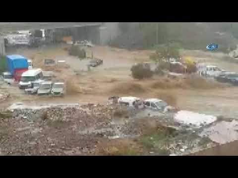 Ankara'da Sel Felaketi: 6 Yaralı! İşte O Anlar...
