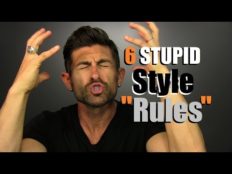 "6 STUPID Style ""Rules"" YOU Need To BREAK!!"