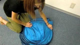 ワンタッチサンシェードテントの折り畳み方説明 thumbnail