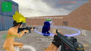 Counter Strike Source - Zombie Riot Mod online gameplay on Lila Map