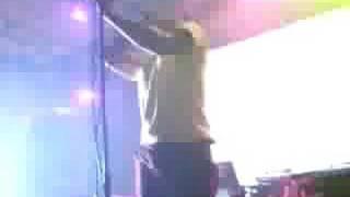 Busdriver performing Scoliosis Jones live