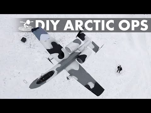 Backyard A-10 Arctic Operations! - YouTube