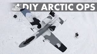 Backyard A-10 Arctic Operations!