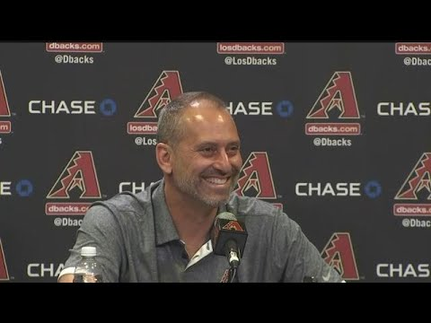 RAW VIDEO: Torey Lovullo speaks about winning NL Manager of the Year