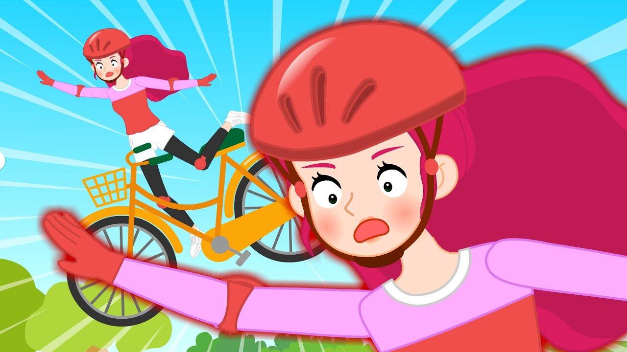 [응급처치 프린세스] 안전하게 자전거를 타요 #2 | 자전거 사고가 난 인어공주?! | 자전거 안전수칙 | 어린이 건강동화★지니키즈
