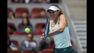 2017 China Open Second Round | Maria Sharapova vs Ekaterina Makarova | WTA Highlights