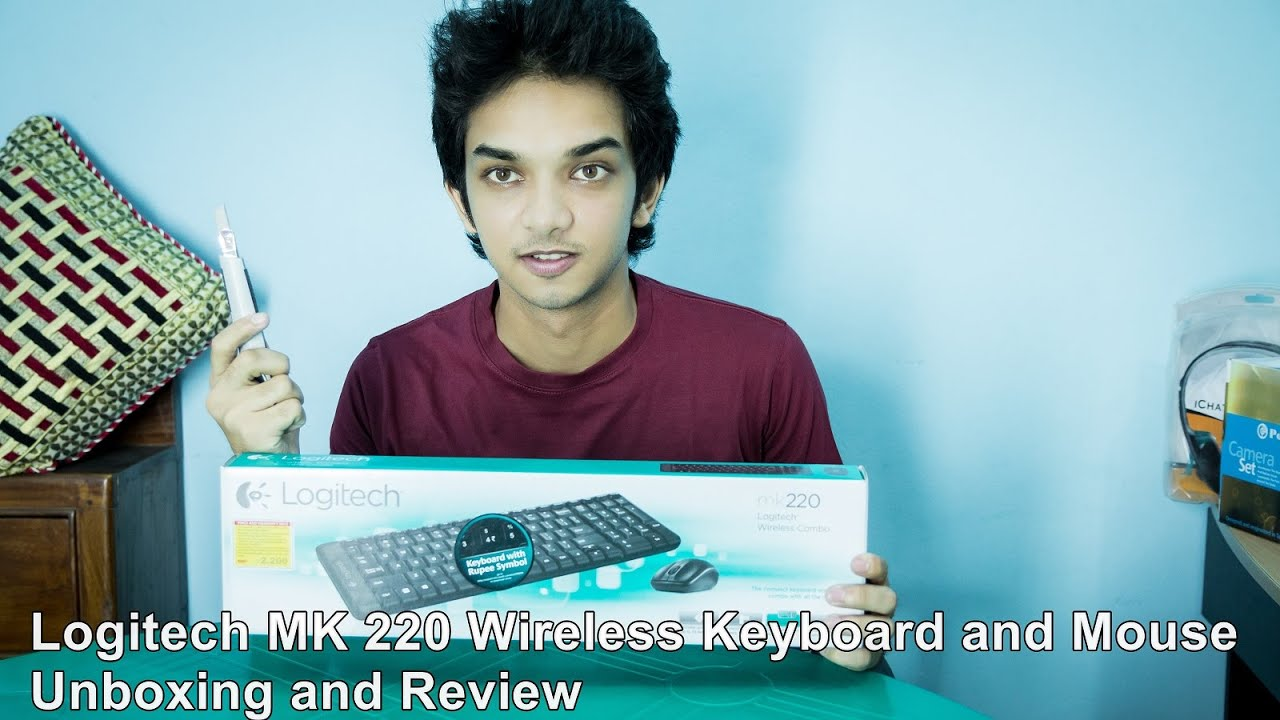 logitech mk220 unboxing and review best budget wireless keyboard and mouse youtube. Black Bedroom Furniture Sets. Home Design Ideas