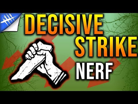 Decisive Strike Nerf Announced.... Again? - Dead by Daylight