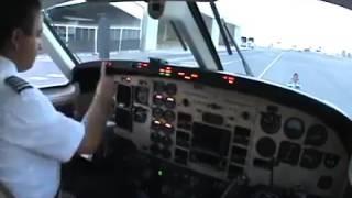 شاهد عملية إقلاع الطائرة من قمرة القيادة